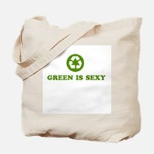 Green Is Sexy Recycler Grocery/Tote Bag