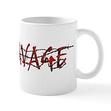 ravage_logo_white Mugs