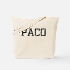 PACO, Vintage Tote Bag