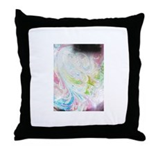 Angel Dog Throw Pillow