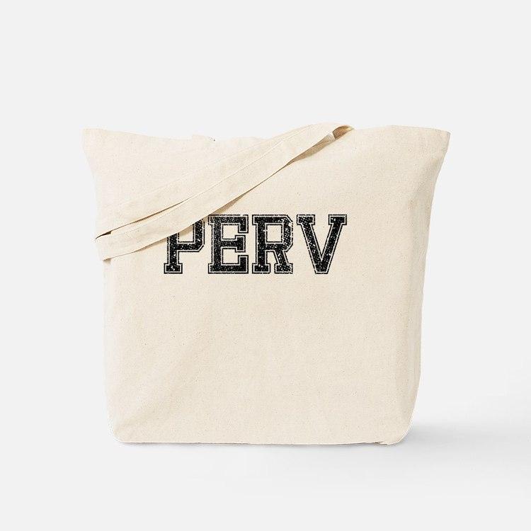 PERV, Vintage Tote Bag