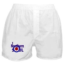 Retro Northern Soul Boxer Shorts