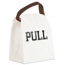 PULL, Vintage Canvas Lunch Bag