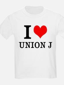 I Love Union J T-Shirt