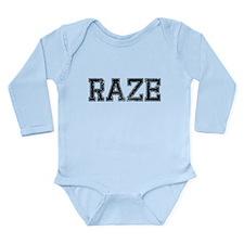 RAZE, Vintage Long Sleeve Infant Bodysuit
