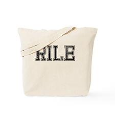 RILE, Vintage Tote Bag