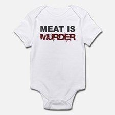Meat Is Murder Veg*n Infant Creeper