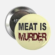 Meat Is Murder Veg*n Button