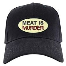 Meat Is Murder Veg*n Baseball Hat