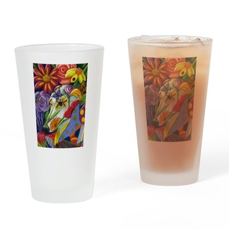 Flora Drinking Glass