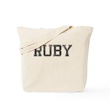 RUBY, Vintage Tote Bag