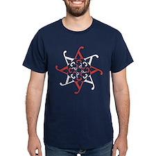 U Karotkaye! Red/White Star T-Shirt
