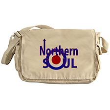 Retro Northern Soul Messenger Bag