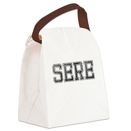 SERE, Vintage Canvas Lunch Bag