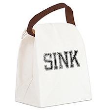 SINK, Vintage Canvas Lunch Bag