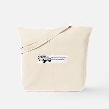 Anti-Hummer Tote Bag