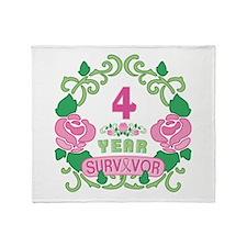 BCA 4 Year Survivor Throw Blanket