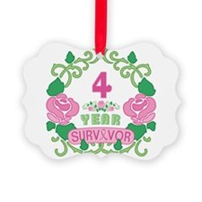 BCA 4 Year Survivor Ornament