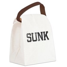 SUNK, Vintage Canvas Lunch Bag