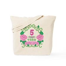 BCA 5 Year Survivor Tote Bag