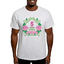 BCA 5 Year Survivor T-Shirt