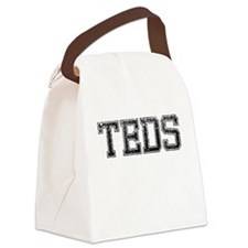 TEDS, Vintage Canvas Lunch Bag