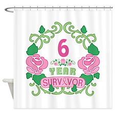 BCA 6 Year Survivor Shower Curtain