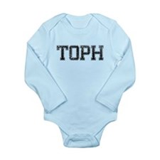 TOPH, Vintage Long Sleeve Infant Bodysuit
