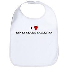 I Love SANTA CLARA VALLEY Bib