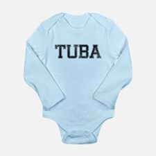 TUBA, Vintage Long Sleeve Infant Bodysuit