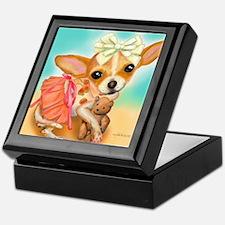 Chihuahua Princess Keepsake Box