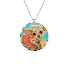 Chihuahua Princess Necklace