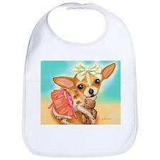 Chihuahua Princess Bib