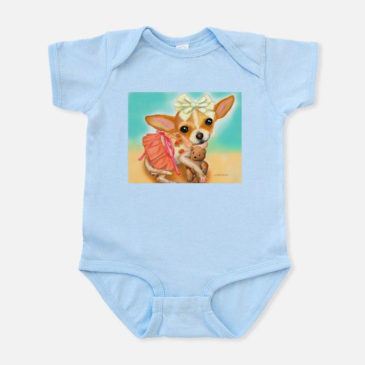 Chihuahua Princess Infant Bodysuit