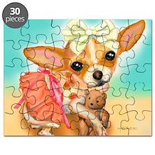 Chihuahua Princess Puzzle