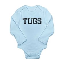 TUGS, Vintage Long Sleeve Infant Bodysuit