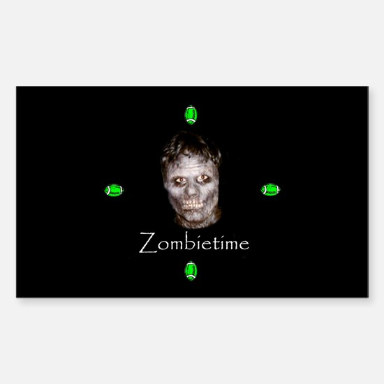 Zombietime Rectangle Decal