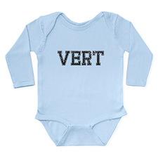 VERT, Vintage Long Sleeve Infant Bodysuit