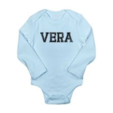 VERA, Vintage Long Sleeve Infant Bodysuit