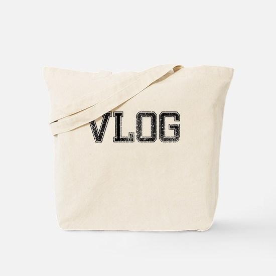 VLOG, Vintage Tote Bag