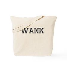 WANK, Vintage Tote Bag