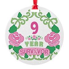 BCA 9 Year Survivor Ornament