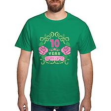 BCA 10 Year Survivor T-Shirt