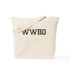 WWBD, Vintage Tote Bag