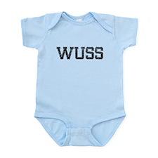 WUSS, Vintage Infant Bodysuit