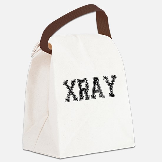 XRAY, Vintage Canvas Lunch Bag