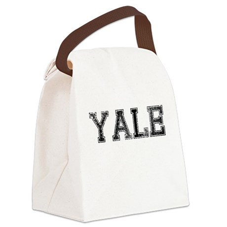 YALE, Vintage Canvas Lunch Bag