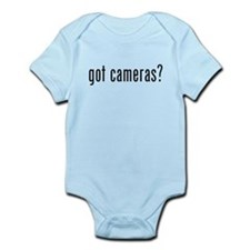 Got Cameras? Infant Bodysuit