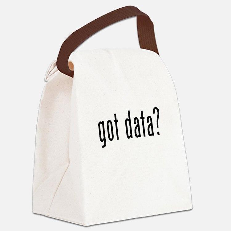 Got Data? Canvas Lunch Bag
