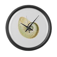 Seashell Large Wall Clock